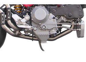 Tube de Raccord SUPERLINE pour Ducati S4R/S4RS Inox