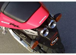 Silencieux Superline CBR 600 RR 2003 Inox - Double Sortie