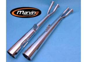 Silencieux Marvi GS 500/550 Chromés