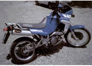 Silencieux Amacal XTZ 660 TENERE 1991 Ø114 Chromé Revêtement Alu