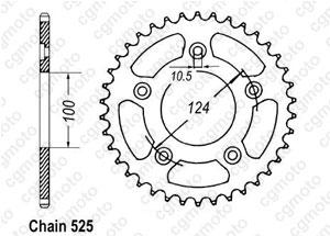 Couronne Ducati 999 R/S 03-
