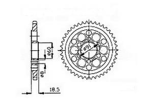 Couronne Ducati 1098 R/S 07-