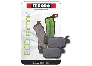 Plaquette de Frein Organique Eco-Friction Route