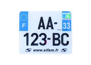 Plaque Sérigraphie 210x130 Eur