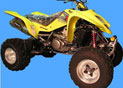 Silencieux Atv Line LTZ 400 2003 Big Oval Alu
