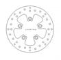 Disque de Frein Piaggio DIS5005 Ø200mm