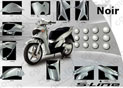 Kit Carrosserie SH125/150 Noir