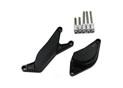 Kit Protection de Carters CNC Anodisés Noir GSR 600 / 750 Gauche et Droit